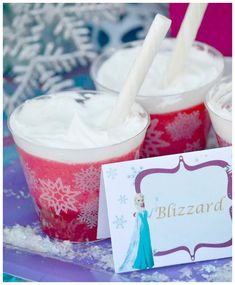 Disney's Frozen themed birthday party full of ideas! Via KarasPartyIdeas.com #frozen #frozenparty (6)