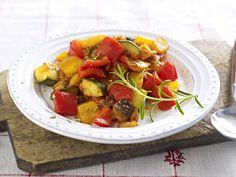 Mediterrane Küche - Leckereien vom Mittelmeer - ratatouille-gemuese  Rezept