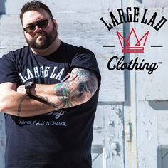 There's a new brand helping big men find clothes they like that actually fit them well. We talk to the founder of Large LAD Clothing about channeling his frustration into the creation of a new clothing company. Take a look: http://chubstr.com/resources/large-lad-clothing-big-tall-brand/
