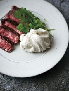 image Gourmet Cooking, Gourmet Recipes, Cooking Recipes, Home Recipes, Asian Recipes, Flat Iron Steak, Vegetable Recipes, Food Porn, Food And Drink