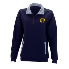 Sigma Gamma Rho Monogrammed Fashion Pullover  from GreekGear.com
