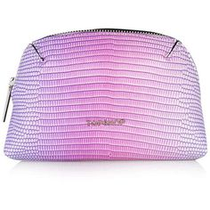 TOPSHOP Ombre Make-Up Bag found on Polyvore featuring beauty products, beauty accessories, bags & cases, bags, pink, cosmetic bag, pink makeup bag, makeup purse, travel dopp kit and make up bag