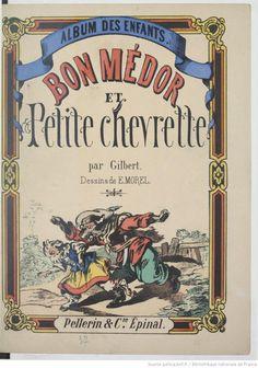 Bon Médor et petite chevrette, 1877 Chevrette, Morel, Domaine Public, Albums, Babies, Retro, Children, Illustration, Books