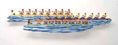 "Row Boat #Sports - 2008, 72"" x 16"" in, Wall Sculpture By #DavidGerstein - #HorizonArts #Miami #ArtGallery #Wynwood http://www.davidgerstein.us/portfolio/row-boat/"