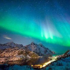 Lofoten Island...Northern lights