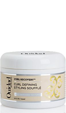 #Ouidad #Curl Recovery Curl Defining Styling Soufflé