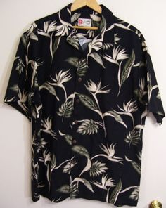 Hilo Hattie Vintage 80's Hawaiian Shirt Size 2XL Made in USA 100% Cotton Aloha  #HiloHattie #Hawaiian