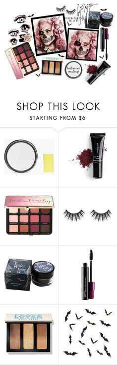 """Behind the Mask: Halloween Makeup"" by shudenbaun ❤ liked on Polyvore featuring beauty, Boohoo, Inglot, Sephora Collection, Manic Panic NYC, MAC Cosmetics, Bobbi Brown Cosmetics, Lands' End and By Terry"