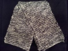 Shimmery long black and white/gray by dementedpolkadesigns on Etsy, $20.00