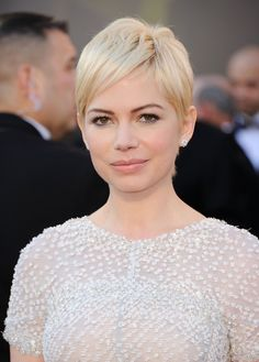 gatsby inspired, pixie, michelle williams