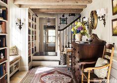 Cashiers mountain home entryway - Jane Hawkins Hoke