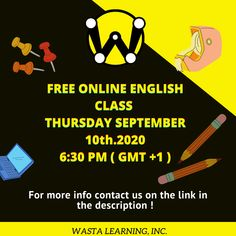 Feel shy , nervous or stuck while speaking english ? Join our free online english class today at 6:30 pm , and improve your english fluency by simply sending us a message on the WhatsApp link below ! #English #learning #online #Homelearning #wasta #community #englishLessons #vocabulary #writing #spoken #teaching #speaking #grammar #education