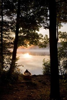 Love this canoe picture.