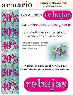 Armario moda te ofrece sus articulos de prendas de ropa desde 5,95 eur hasta 29,95  €