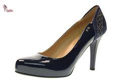 NERO GIARDINI à talon haut dcollet P717361DE / 208 femmes taille 37 Bleu - Chaussures nero giardini (*Partner-Link)