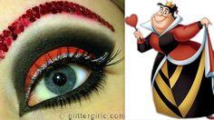 Queen of Hearts - Makeup tutorial!