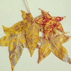 Orangevertevintage: DIY les jolies feuilles d'automne