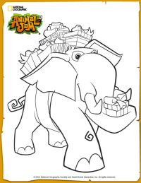 animal jam coloring pages jamaalidays - photo#7