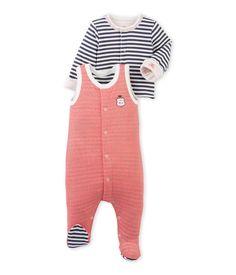 3733acaf6637 Pyjama naissance   PETIT BATEAU. Ensemble bébé garçon dors bien et cardigan  bleu Cinderella   blanc Lait.