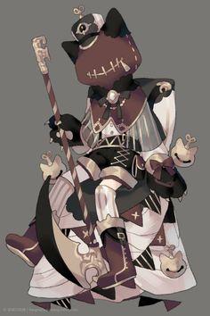 第五人格Identity v Fantasy Character Design, Character Design Inspiration, Character Concept, Character Art, Cute Art Styles, Cartoon Art Styles, Fantasy Characters, Anime Characters, Arte Do Kawaii