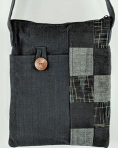Handmade Patchwork Shoulder Bag - Zenbu Home