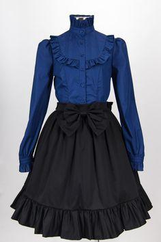 Ruffled Lolita Skirt in Caviar by seraphinelysion on Etsy https://www.etsy.com/listing/227228076/ruffled-lolita-skirt-in-caviar