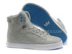 c646c144911b Supra Skytop Grey Blue Men s Shoes