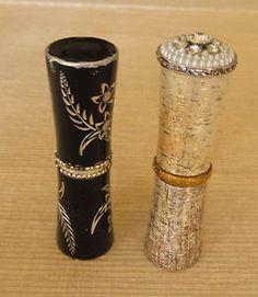 Image detail for -Two Vintage Numbered Engraved Revlon Lipsticks   eBay