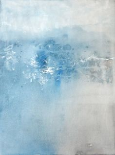 Modern Abstract Canvas Painting. Original by SOMETHINGdebussy