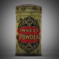 Rare Antique Taite & Sisler Insect Powder Tin by bellusvanitas, $115.00