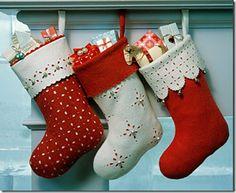 Botas de fieltro para navidad con moldes | Aires de Fiesta
