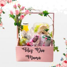 Breakfast Basket, Mothers Day Decor, Health Shop, Mom Day, Mom Birthday, Fruit Smoothies, Vegan Recipes Easy, Barbie, Gifts For Mom