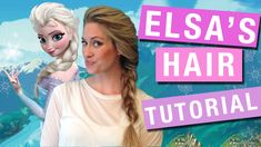 [HAIR TUTORIAL] Elsa's braid from Disney's Frozen.