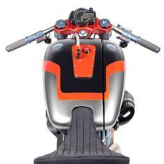 Harley Davidson Nightster Custom Motorcycle Tank Shot... Nice!