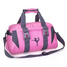 ee4a005c85e56 Yoga Fitness Bag Waterproof Nylon Training Shoulder Crossbody Sport Bag For  Women Fitness Travel Duffel Clothes Gym Bags