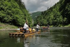through geographer's eyes: Why Dunajec River gorge is so deep and winding?