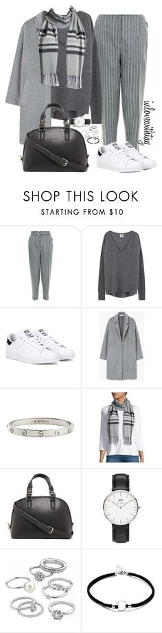 """81❤"" by inlovewithtay on Polyvore featuring mode, adidas Originals, MANGO, Cartier, Lord & Taylor, Forever 21, Daniel Wellington et Candie's"