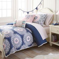 Frank and Lulu Dream Catcher Comforter Set in Indigo - BedBathandBeyond.ca