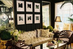 """""""I always like my rooms to have a ton of personality and a bit of fun.""""  Ruthie Sommers"""