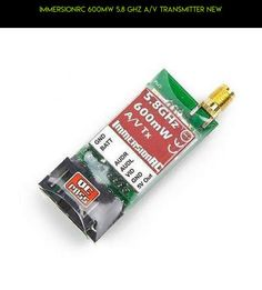 ImmersionRC 600MW 5.8 GHz A/V Transmitter New #technology #shopping #5.8ghz #tech #audio #gadgets #parts #transmitter #products #camera #kit #600mw #racing #plans #drone #immersionrc #fpv #video