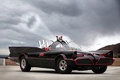 Batmobile (1966): Lincoln Futura by Barris Kustom