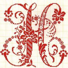 H - Filomena Crochet e Outros Lavores: - Alfabetos