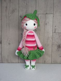 Lalylala doll modified by Alissa K. / crochet pattern by lalylala