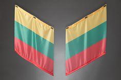 Fahnen | Armfahnen | flags | armflags | Fanartikel | Merchandising | Litauen, Lithuania für 14,95 Euro