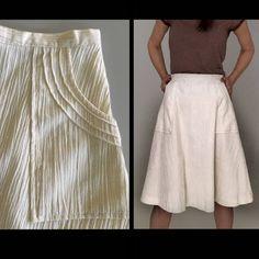 ed7a353e98 White skirt women xl Vintage 70s boho skirt 60s hippie cotton skirt 31 midi  knee length apron a-line linen bohemian casual summer skirt