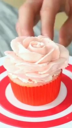Beautiful cupcakes decor cupcakes putonapron impress your friends and family with these awesome desserts desserts Fondant Cupcakes, Cheesecake Cupcakes, Mini Cupcakes, Cupcake Cakes, Daisy Cupcakes, Cherry Cupcakes, Rose Cupcake, Cake Recipe For Decorating, Cake Decorating For Beginners