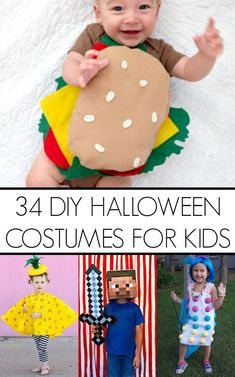 34 DIY Kid Halloween Costume Ideas