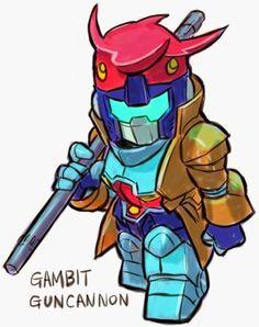 GUNDAM GUY: GUNDAM x MARVEL SUPER HEROES - Digital Fan-Arts By ...