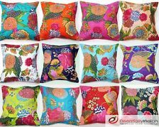 Indian floral cushion covers - Tropican