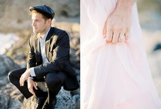 Sutro Baths engagement session - photo by Coco Tran http://ruffledblog.com/sutro-baths-engagement-session
